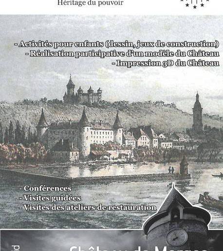 Journée du patrimoine au château de Morges