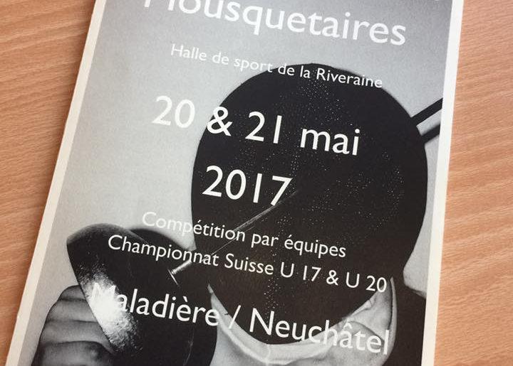 Rédaction d'un second article pour la Société d'escrime de Neuchâtel